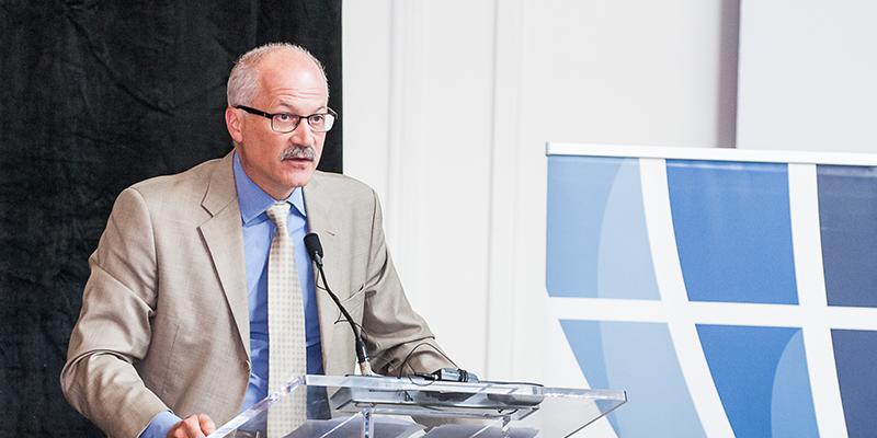 HIEC Board Chair Brent Scowen at Men as Career Coaches